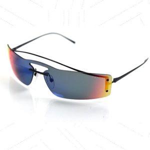 PRADA SPR61V 1AB-9Q1 Shield Sunglasses